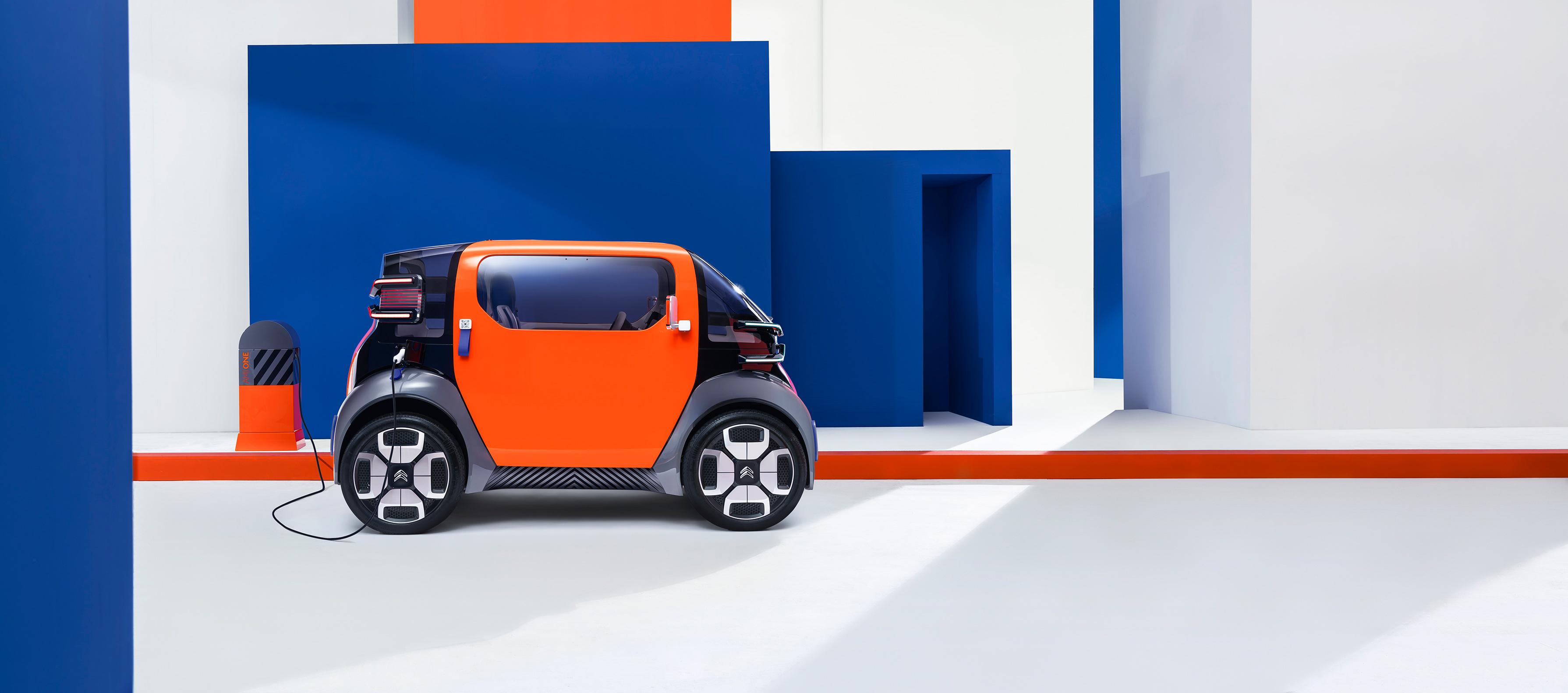 Citroën AMI ONE COncept, revolucionando los compactos