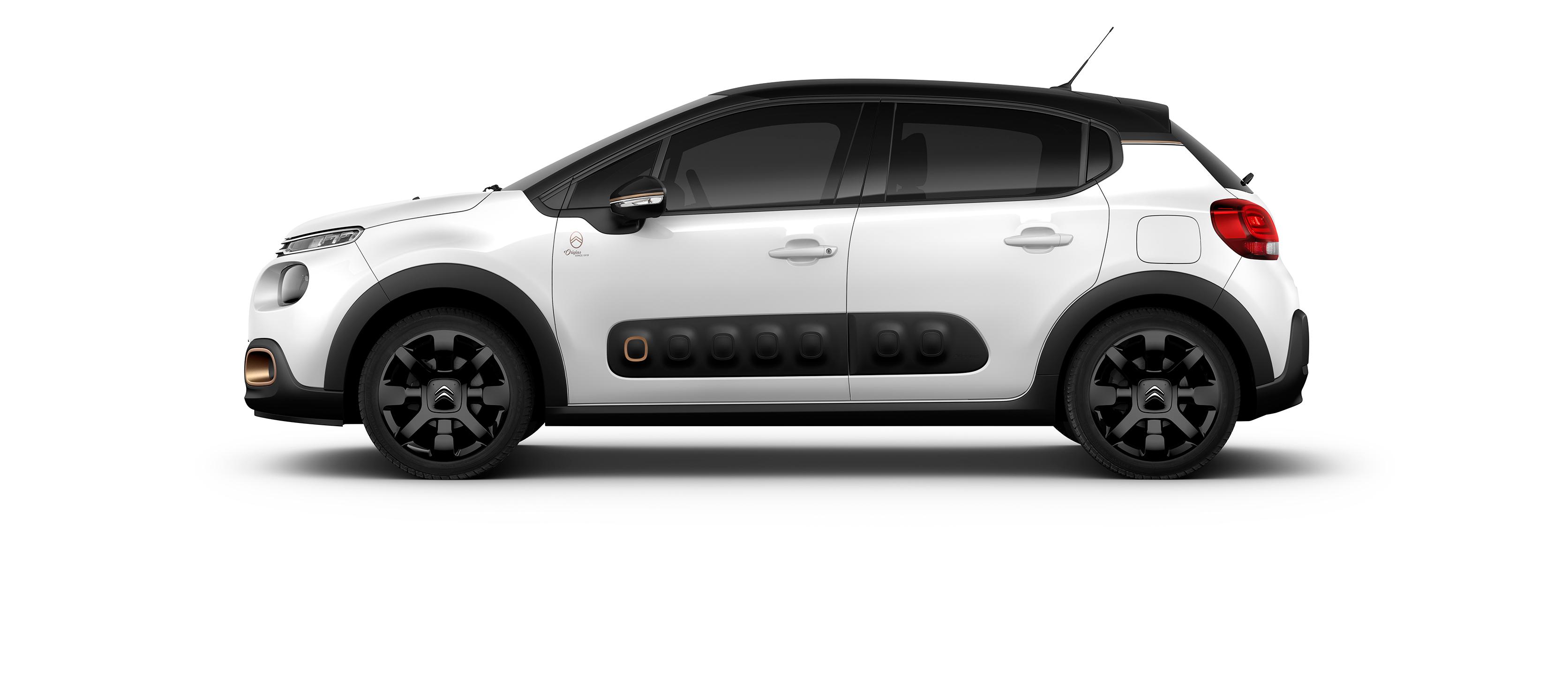 Citroën C3 Origins una Edición Limitada conmemorativa