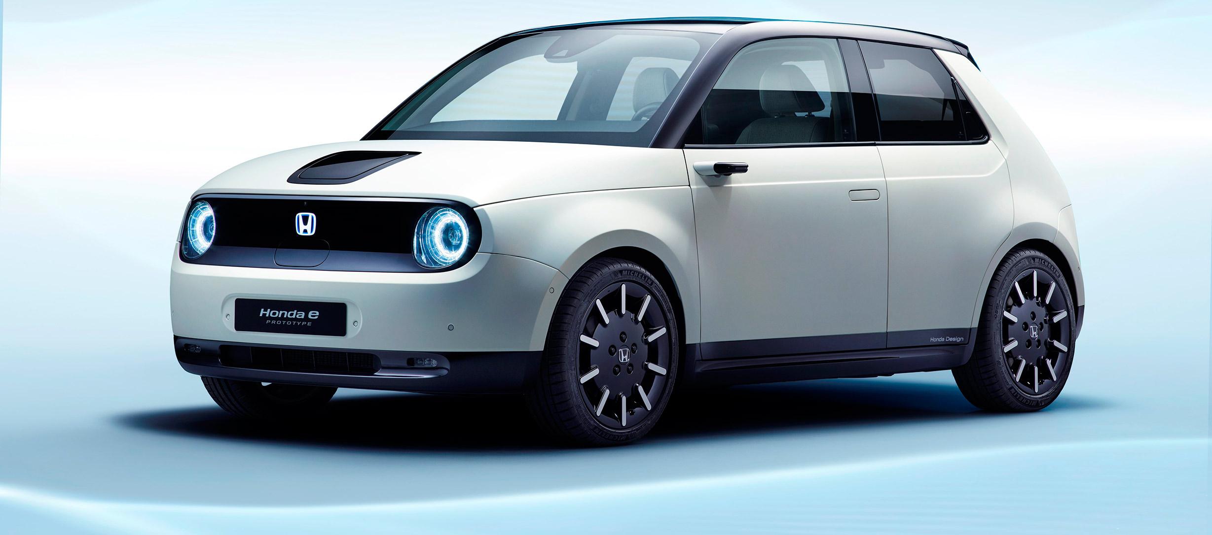 Honda e Prototype, presentación mundial en Ginebra 2019