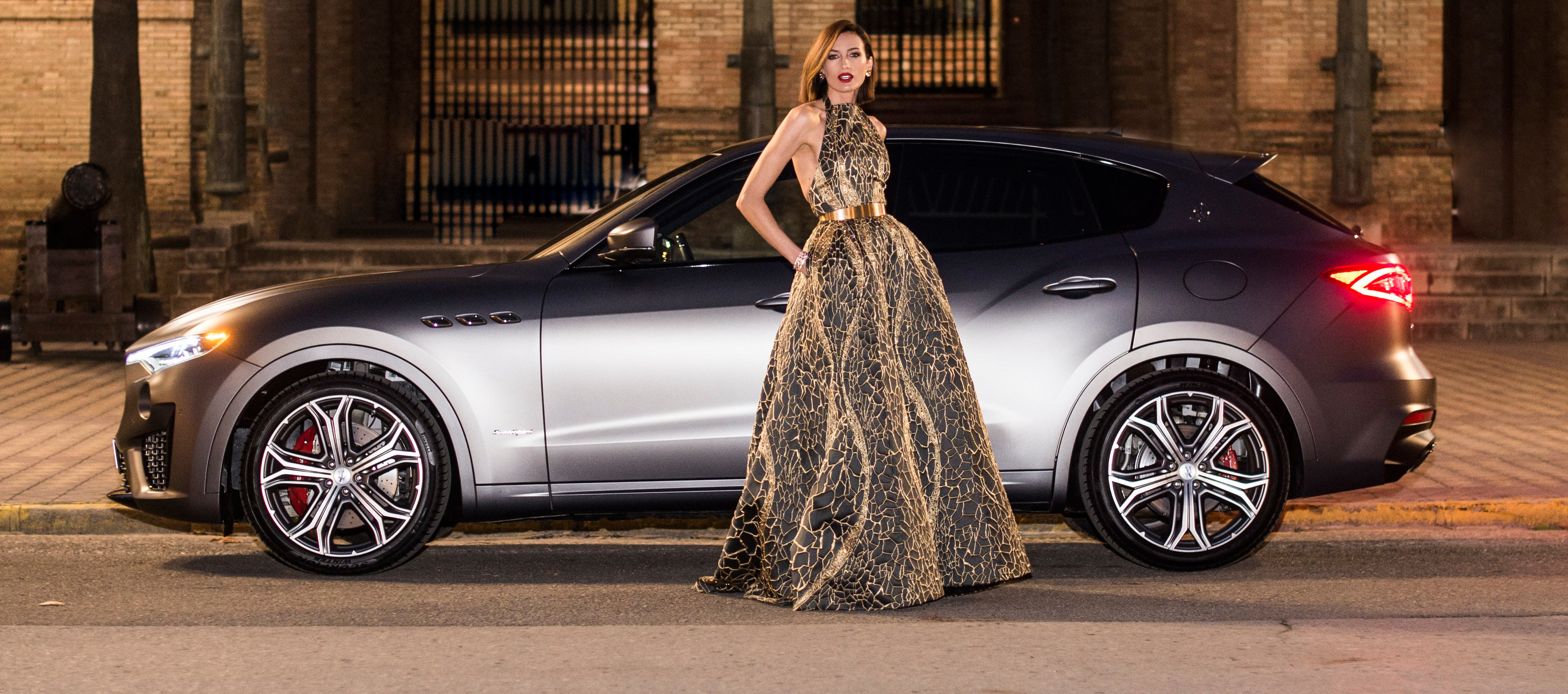 Maserati y Nieves Álvarez deslumbran en los Goya