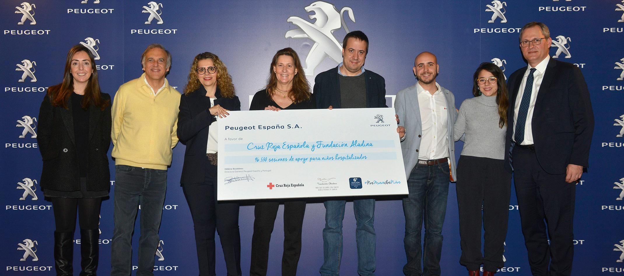 Peugeot con sus Revisiones solidarias ayuda a muchos niños