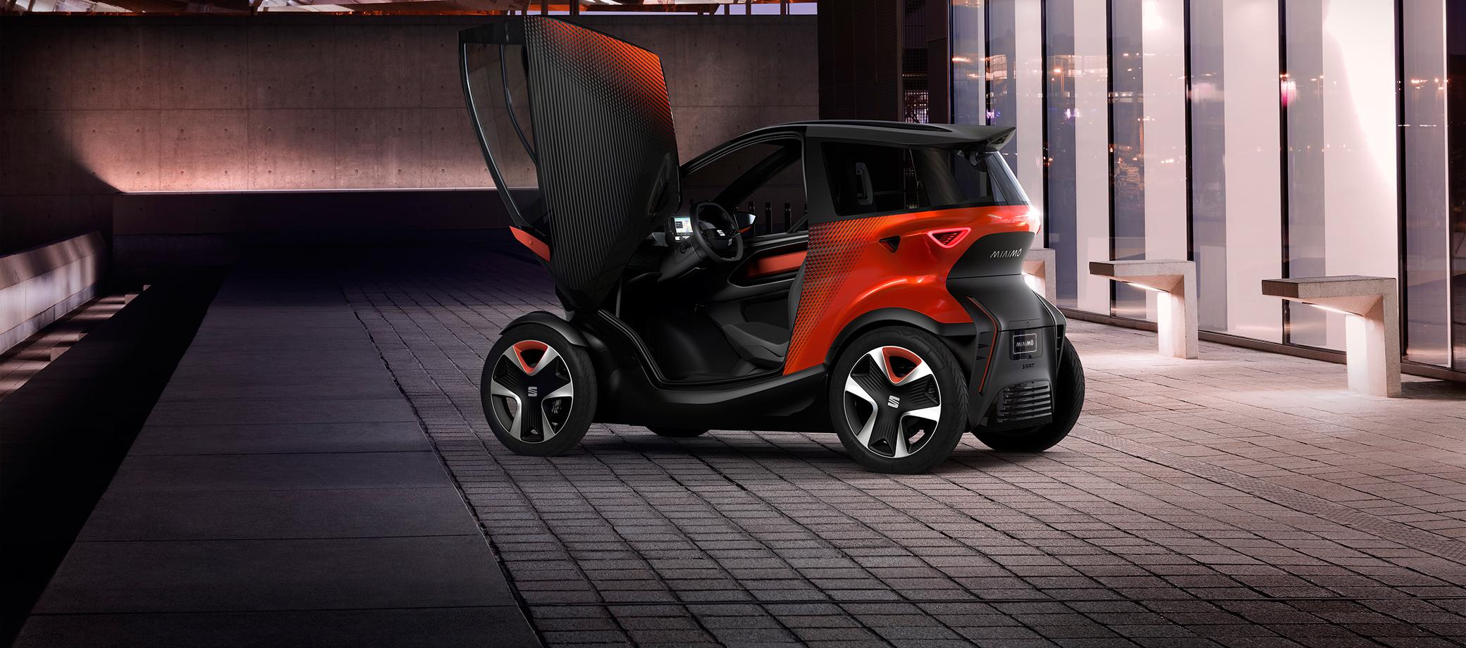 SEAT Minimó, el concepto revolucionario de la movilidad sostenible