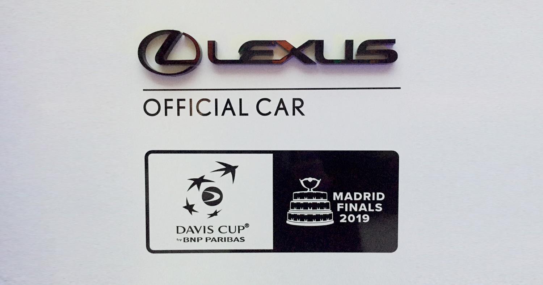 Lexus patrocinador oficial de la nueva Davis Cup