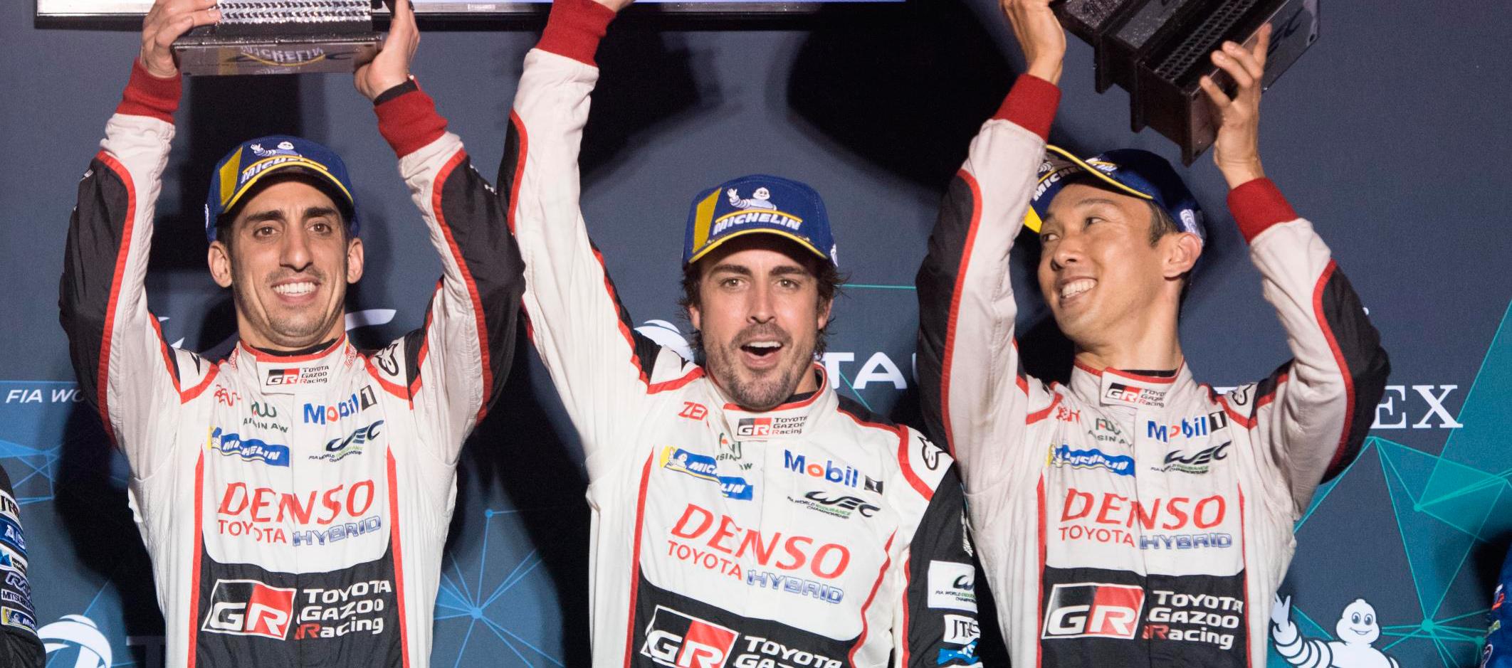 Triunfo del Toyota 8 en las 1.000 millas de Sebring con Fernando Alonso como prota