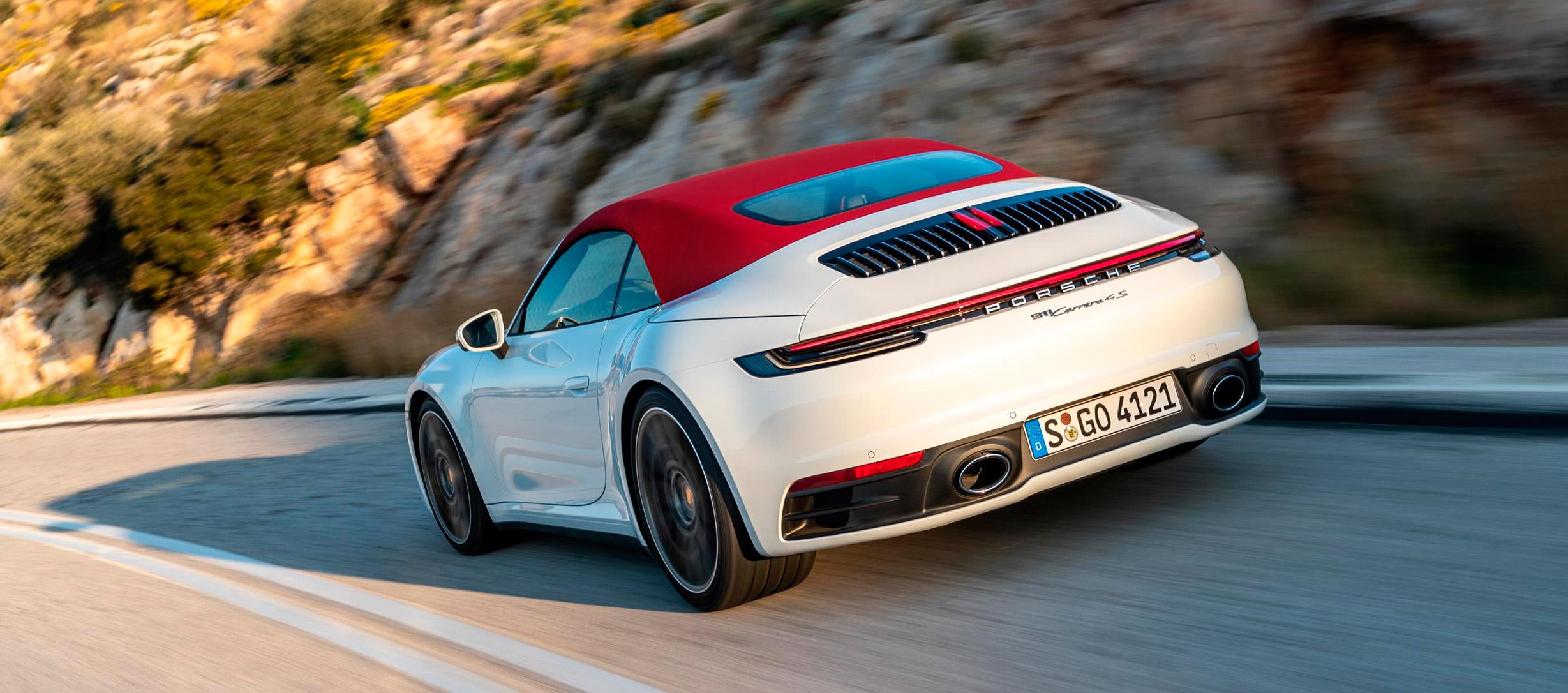 Porsche 911 Cabrio, con nueva capota de alta tecnología
