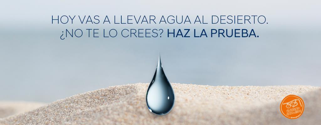 Colabora con Hyundai para llevar agua al desierto