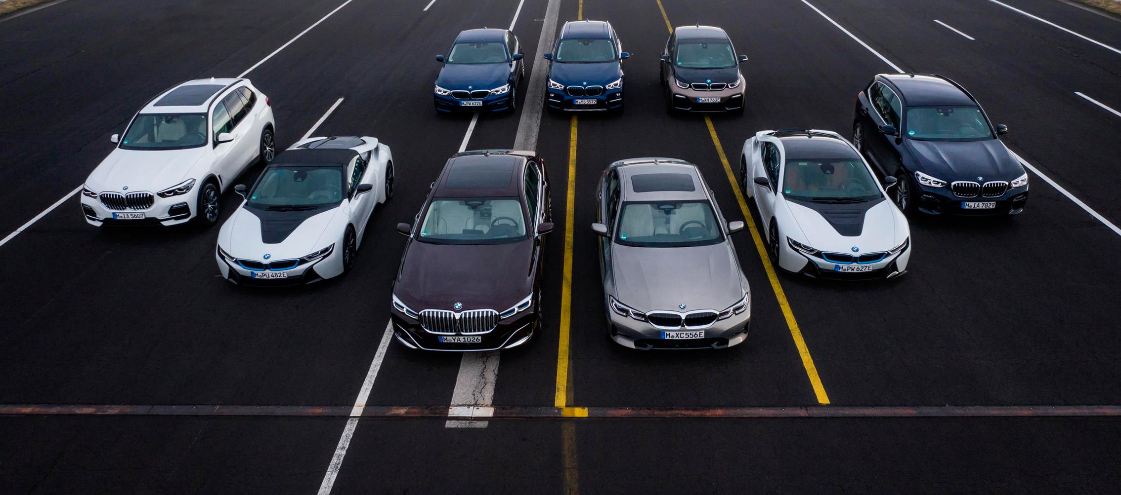 BMW presenta nuevas versiones PHEV y baterías de alta tensión
