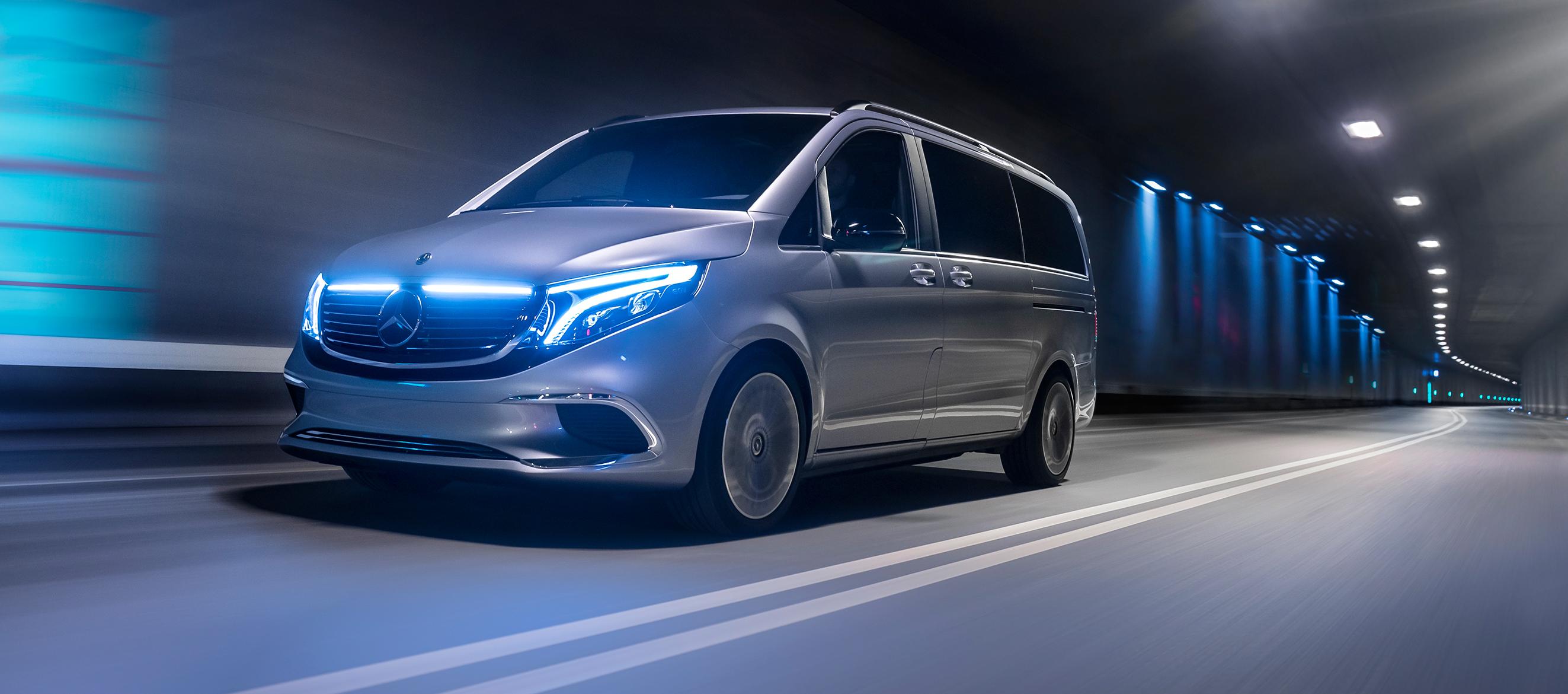 Mercedes-Benz Concept EQV, el futuro eléctrico ya está aquí