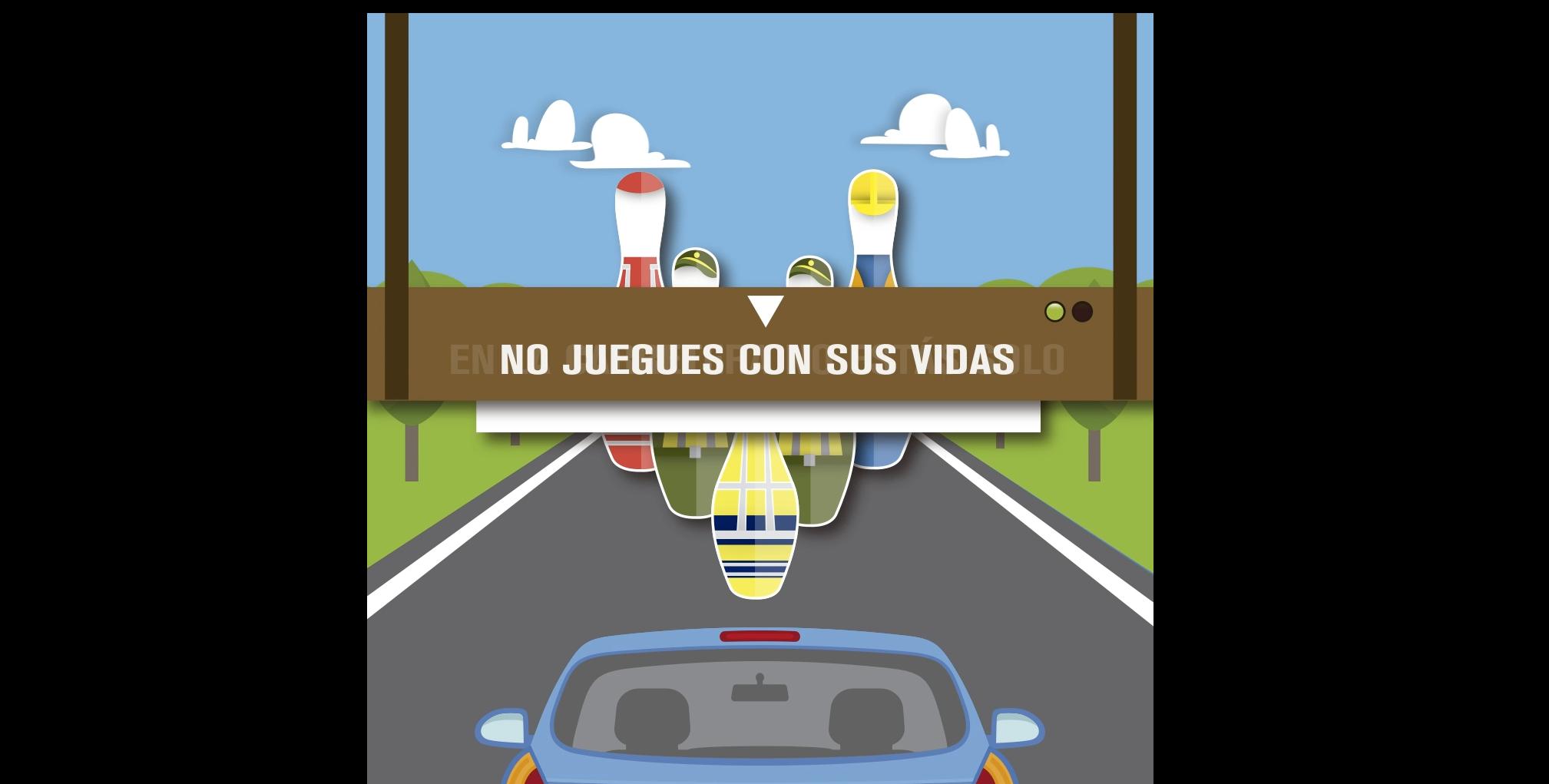 La DGT pide prudencia con los trabajadores de las carreteras