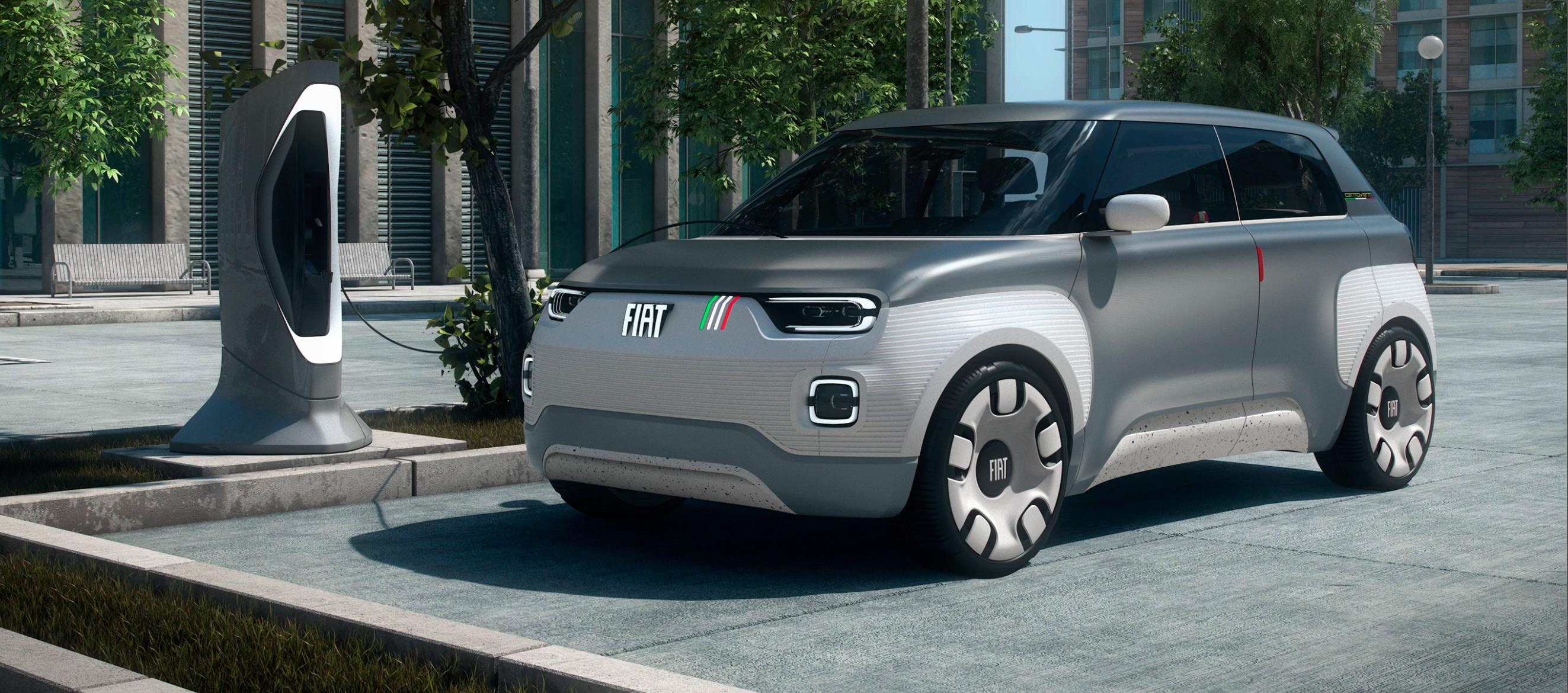 FIAT Centoveni el Concept car eléctrico urbano