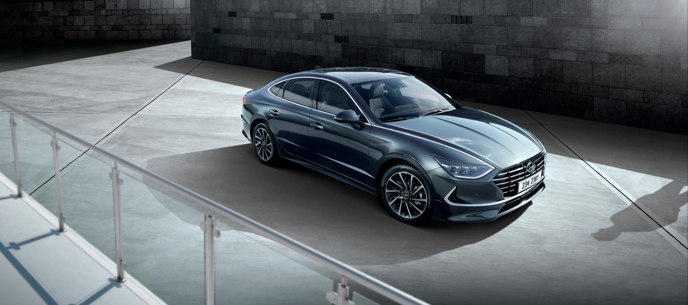 Hyundai Sonata, se muestran las primeras imágenes