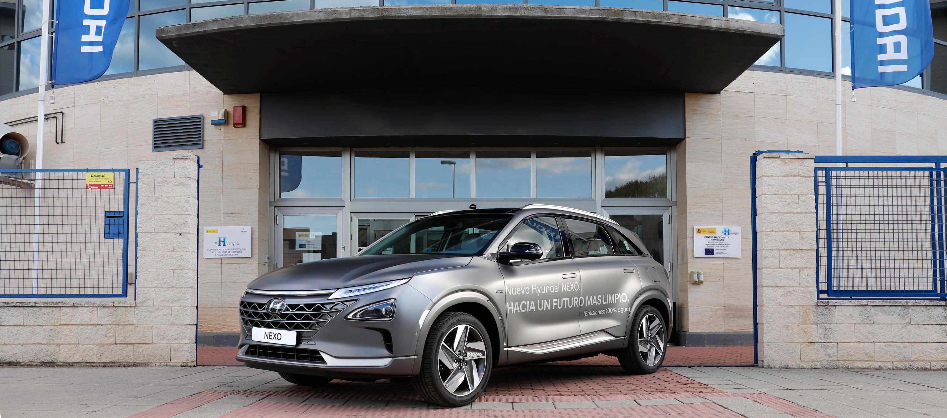 Hyundai Nexo primer vehículo eléctrico de pila de combustible de hidrógeno matriculado en España