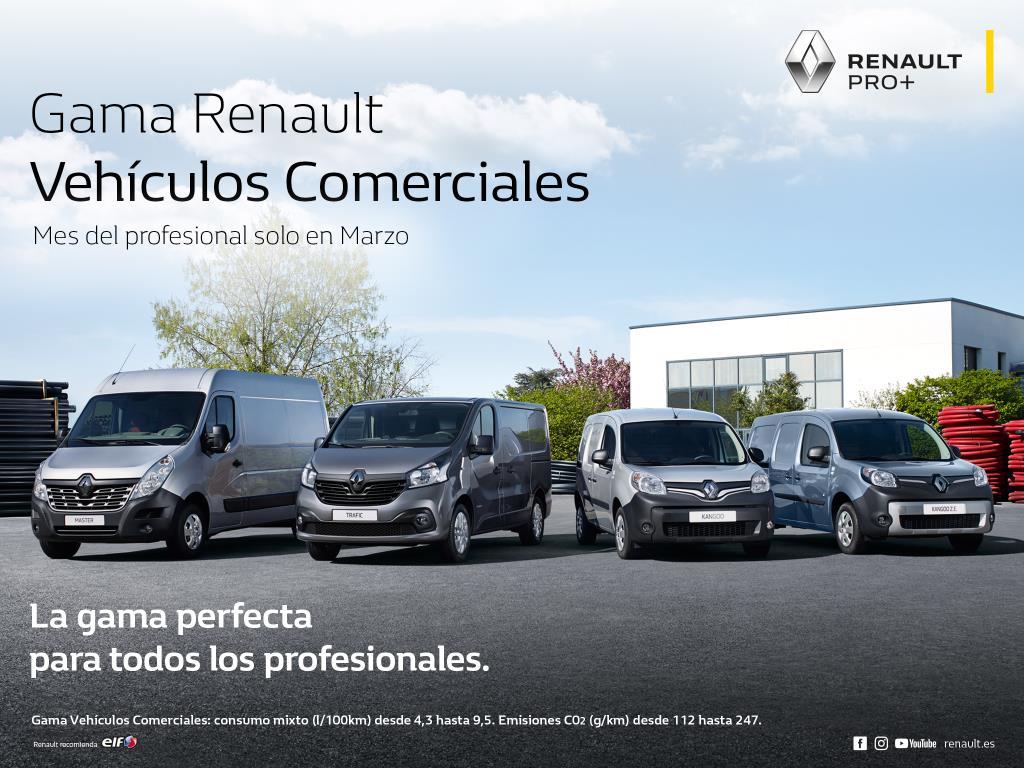 Renault lanza el mes del profesional