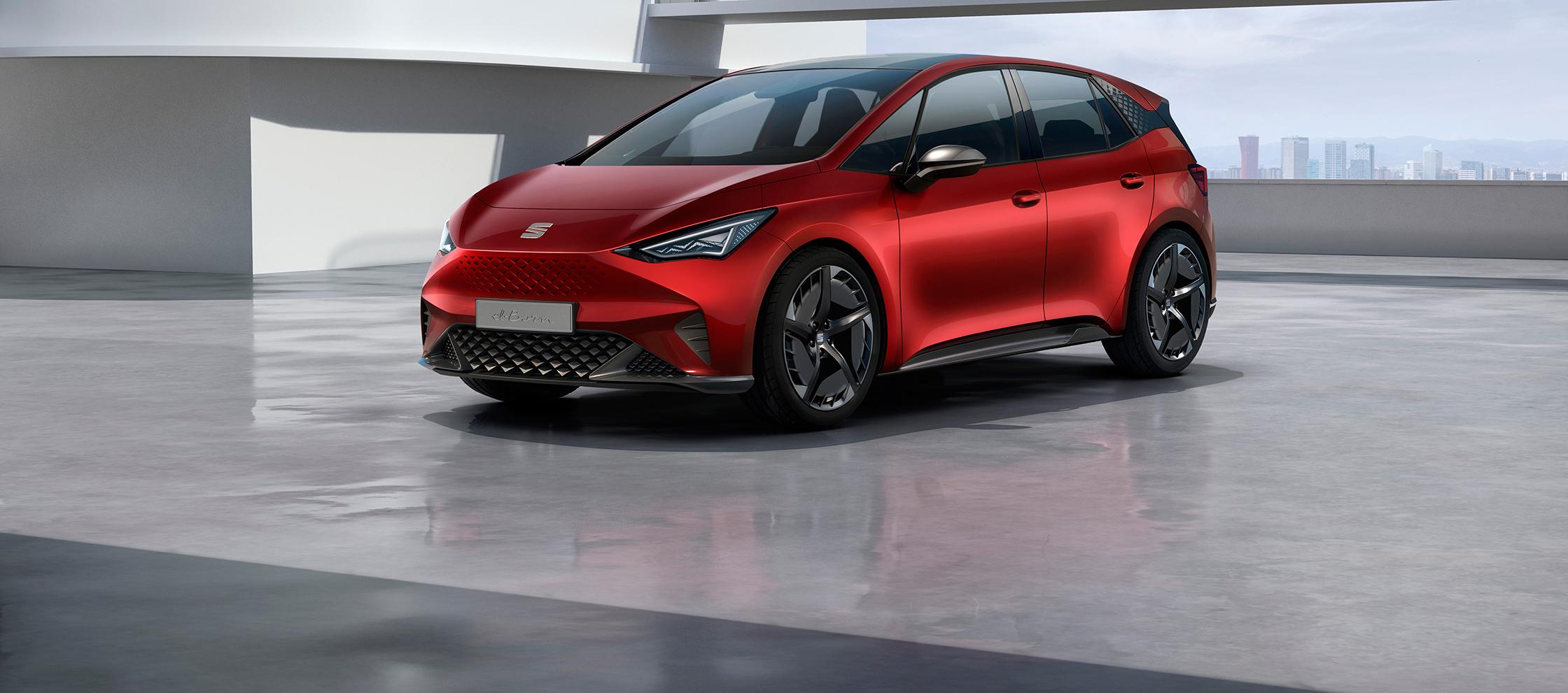 SEAT el-Born concept car conectado a la movilidad eléctrica