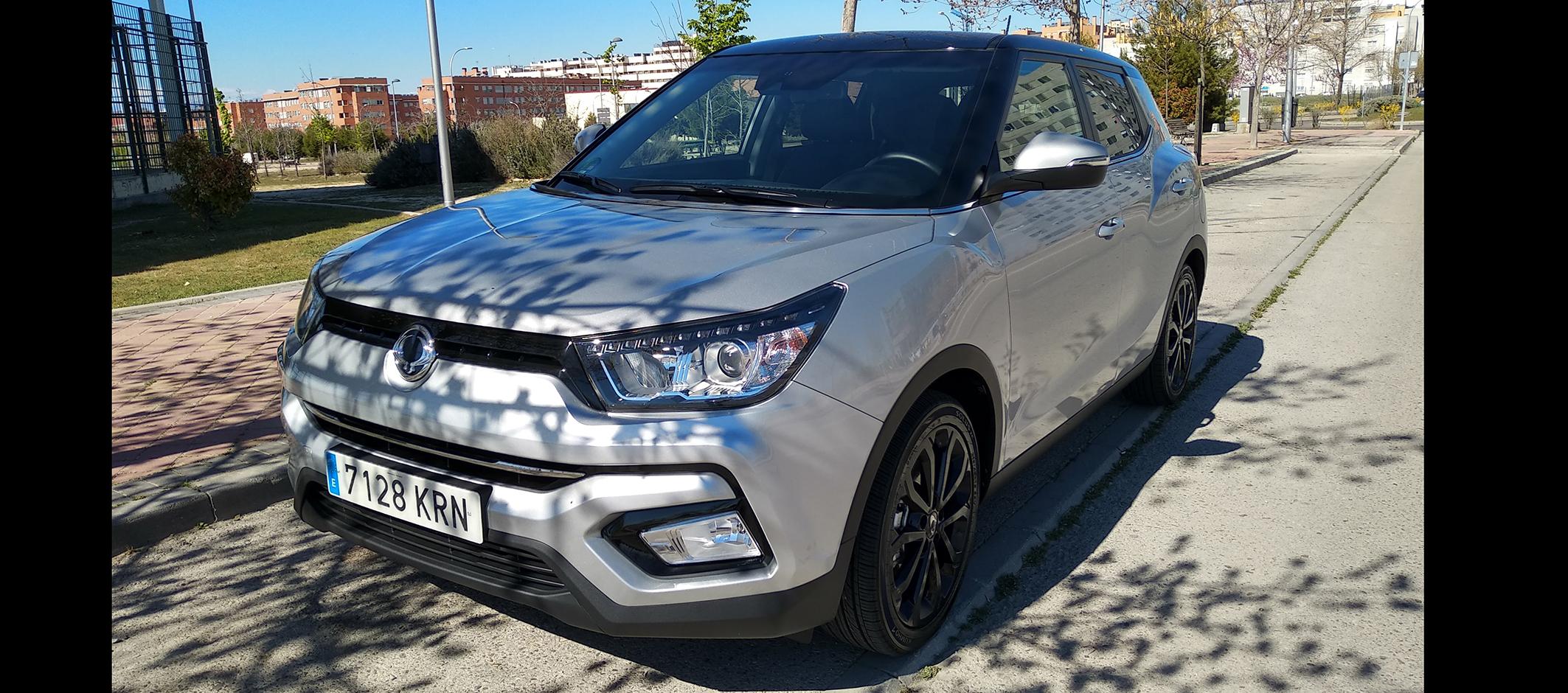 Ssangyong Tívoli GLP, el SUV compacto ecológico y rompedor