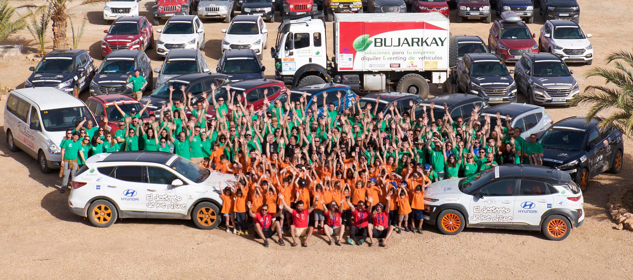 Acción Solidaria Hyundai: El Desierto de los niños