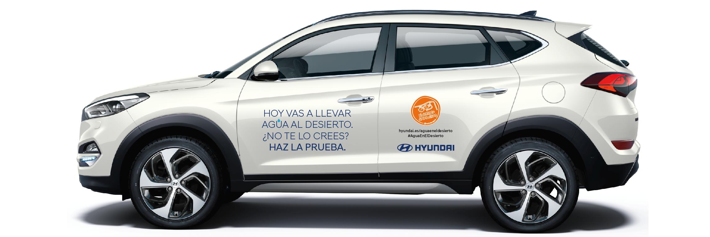 """Acción Solidaria """"Agua en el Desierto"""", de Hyundai"""