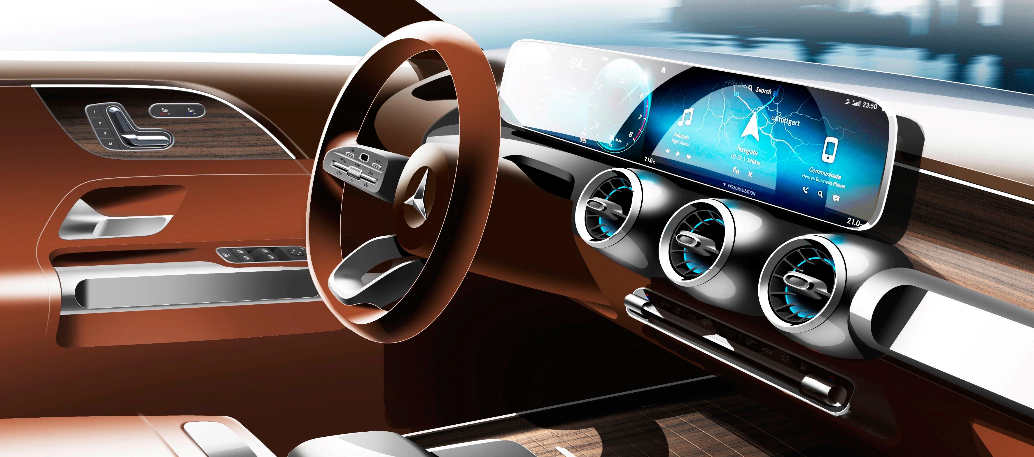 Mercedes-Benz presentará en Shanghai el Concept GLB Y el A 35 4MATIC Sedán