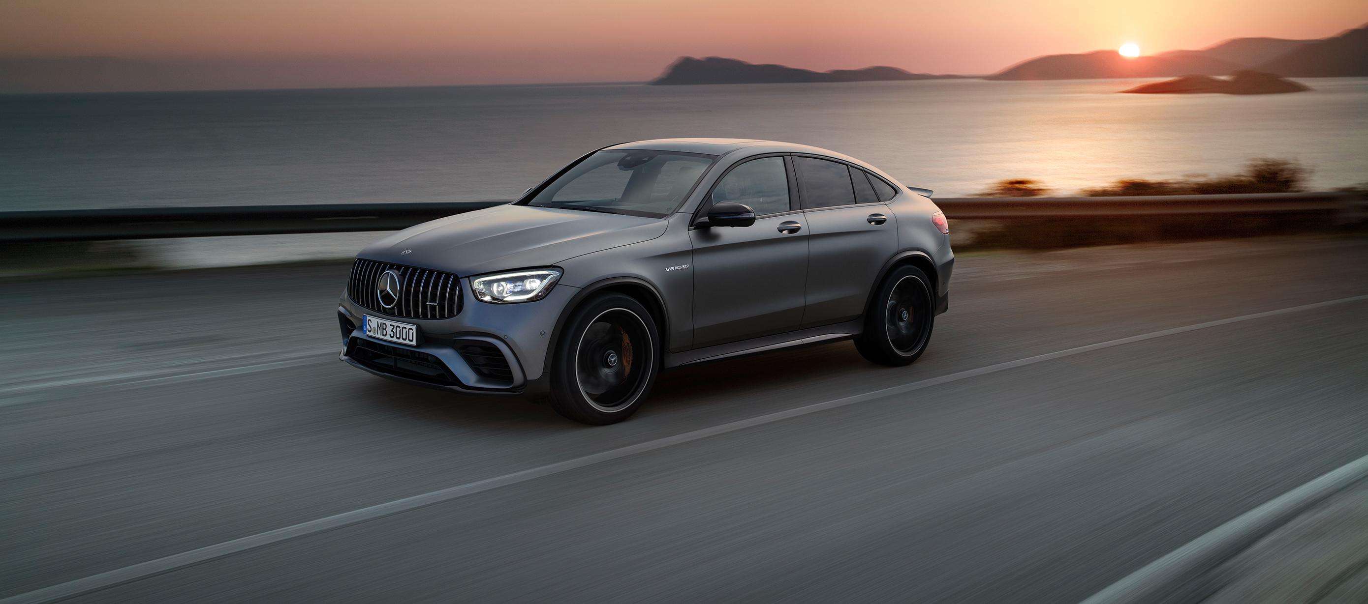 Mercedes-Benz presenta sus nuevos modelos AMG GLC 63 4MATIC+