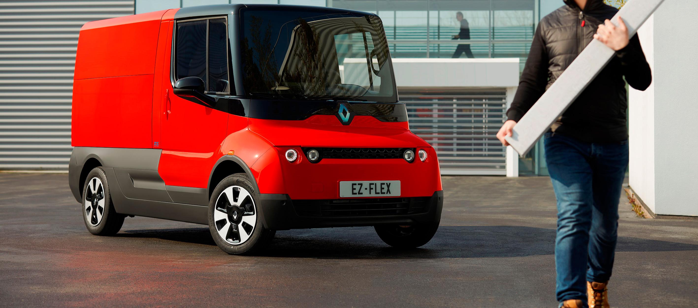Renault EZ-FLEX vehículo industrial eléctrico para la ciudad
