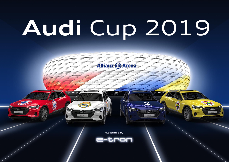 4 equipos TOP para la AUDI Cup 2019