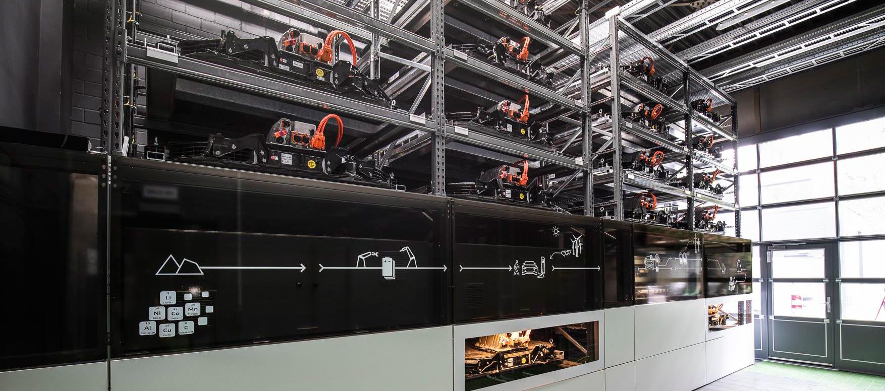Se pone en marcha la unidad de almacenamiento de baterías de AUDI