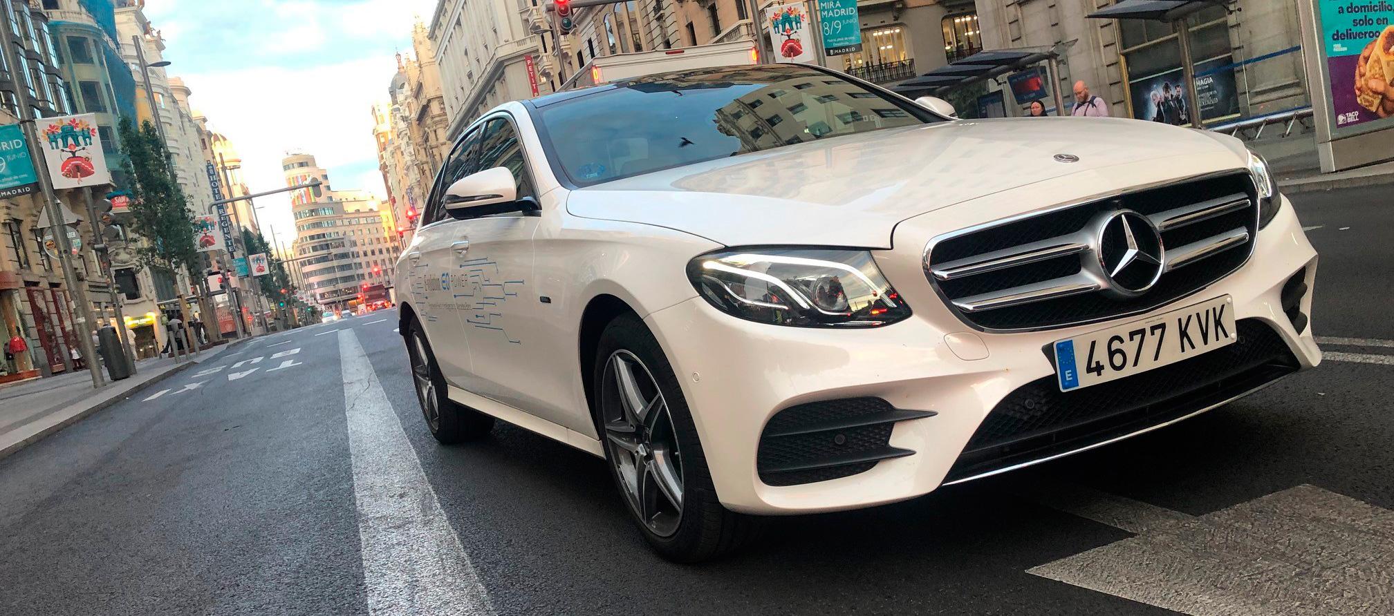 Mercedes-Benz Clase E 300 DE, híbrido enchufable