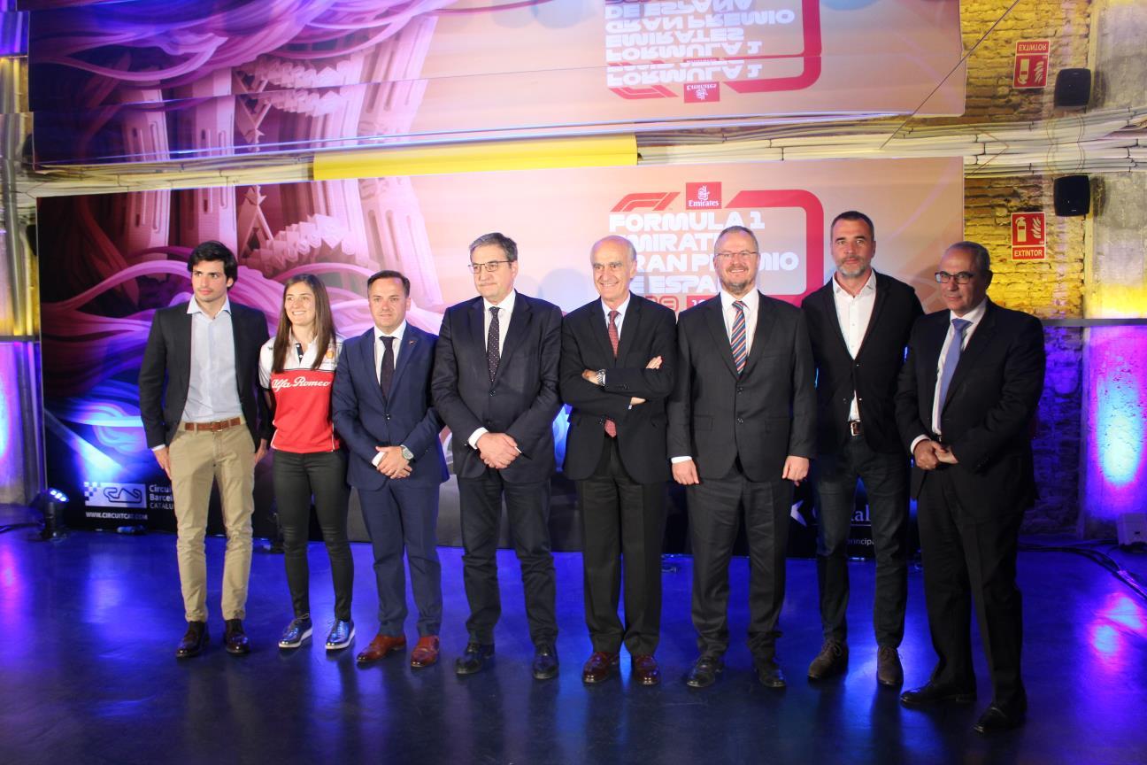 Presentación Fórmula 1 Emirates Gran Premio de España