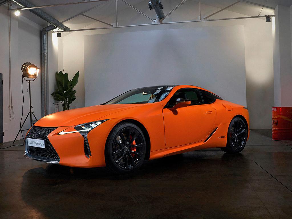 Lexus LC 500h Matte Prototype presentado en Barcelona