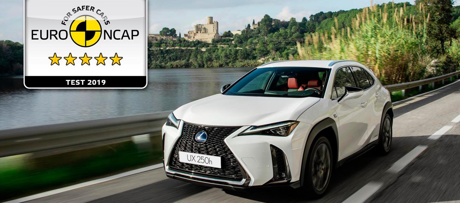 Lexus UX250h 5 estrellas euroNCAP