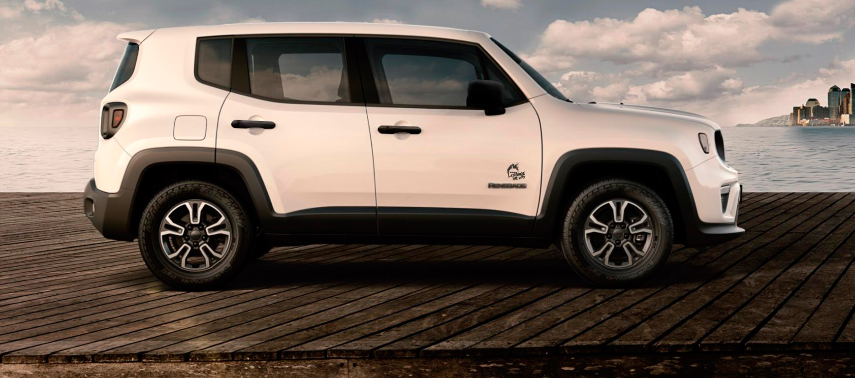 Change The Way, nueva Edición Especial del Jeep Renegade