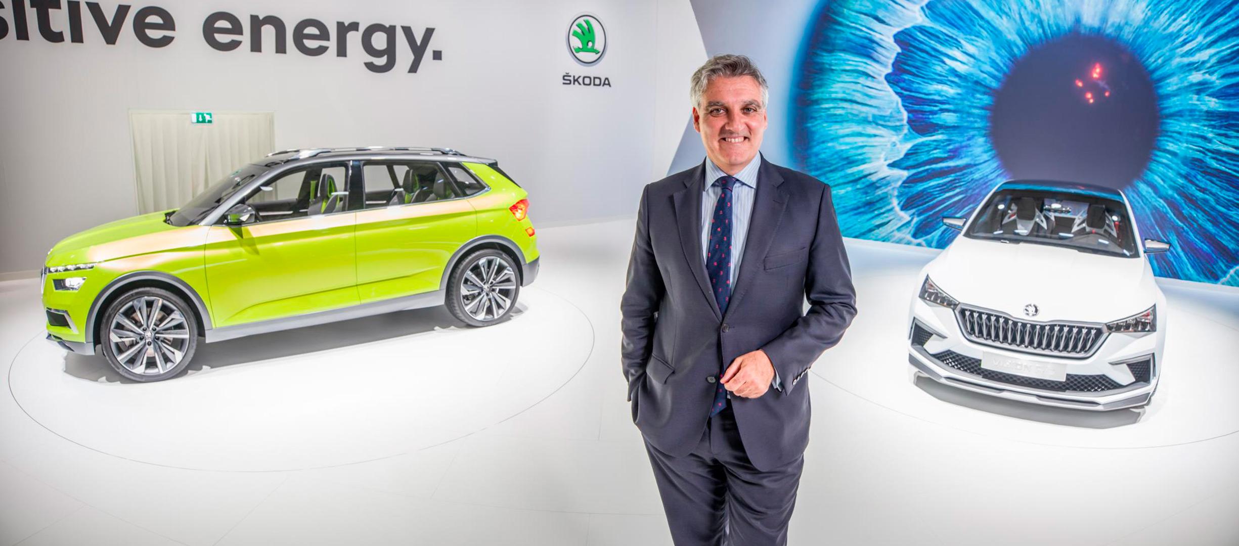 Automobile Barcelona 2019: Skoda y su visión de futuro