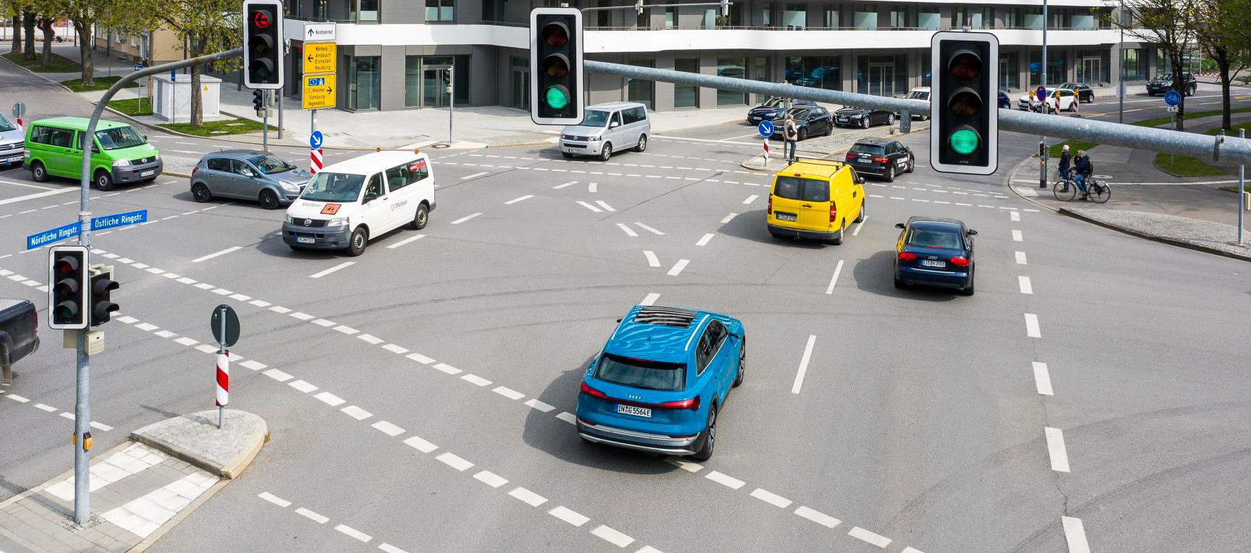 Servicio de información de semáforos by AUDI ya en Europa