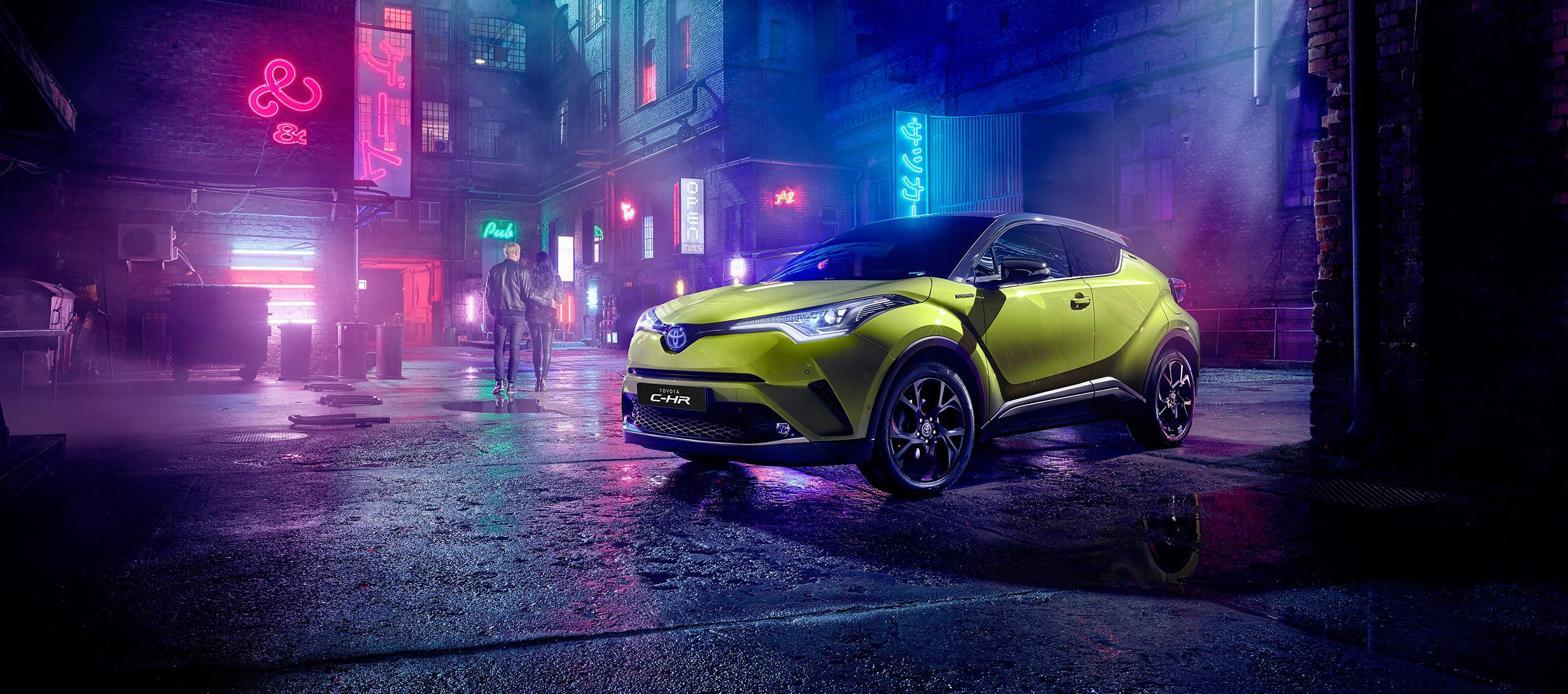 Toyota España lanza el C-HR Amarillo Wasabi