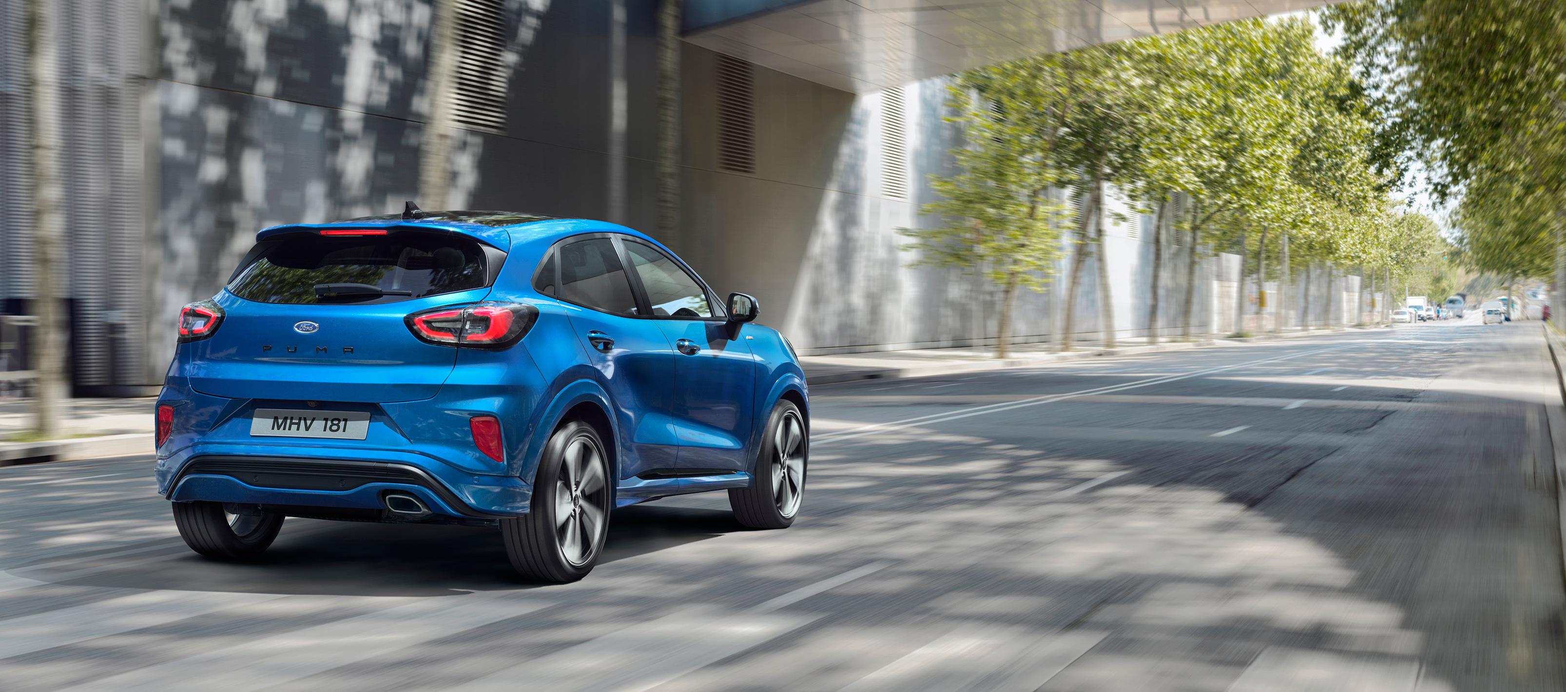 Nuevo Ford Puma ahora con tecnología Mild-Hybrid