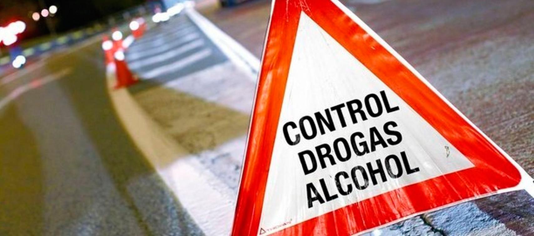 Más de 470 conductores al volante y al día han consumido drogas o alcohol