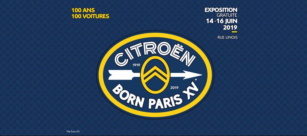 Citroën BORN PARIS XV, la exposición de los 100 años de Citroën