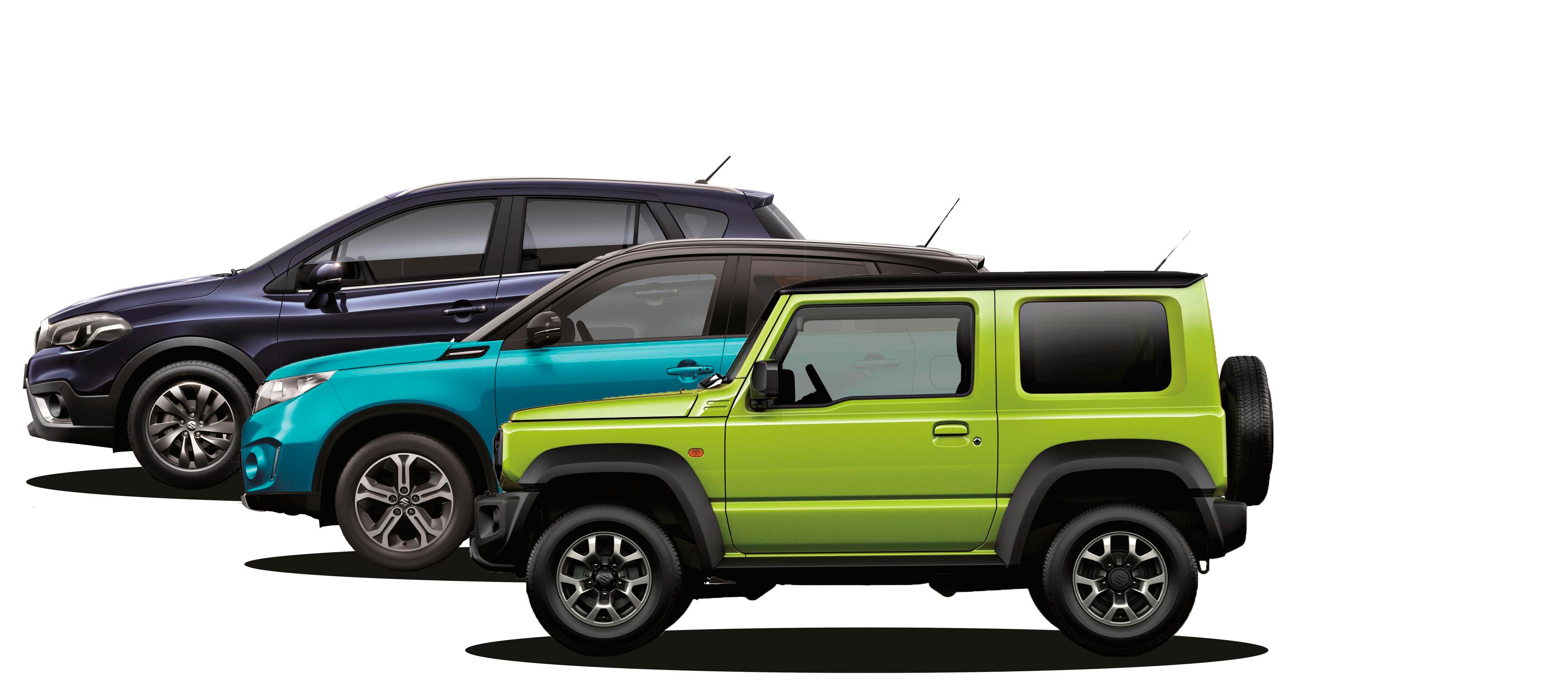Suzuki pionero en el mundo SUV y Crossover