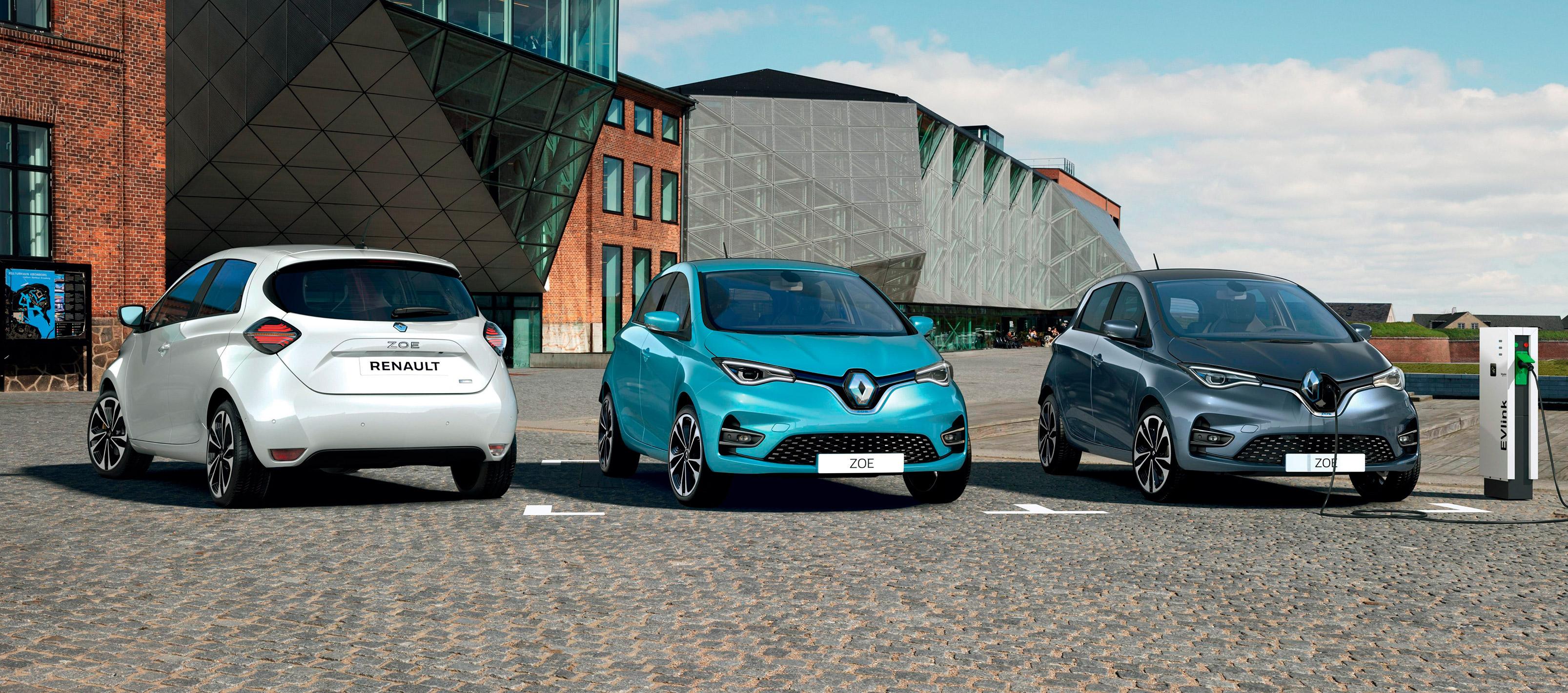 Renault líder del mercado de vehículos 100% eléctricos en España