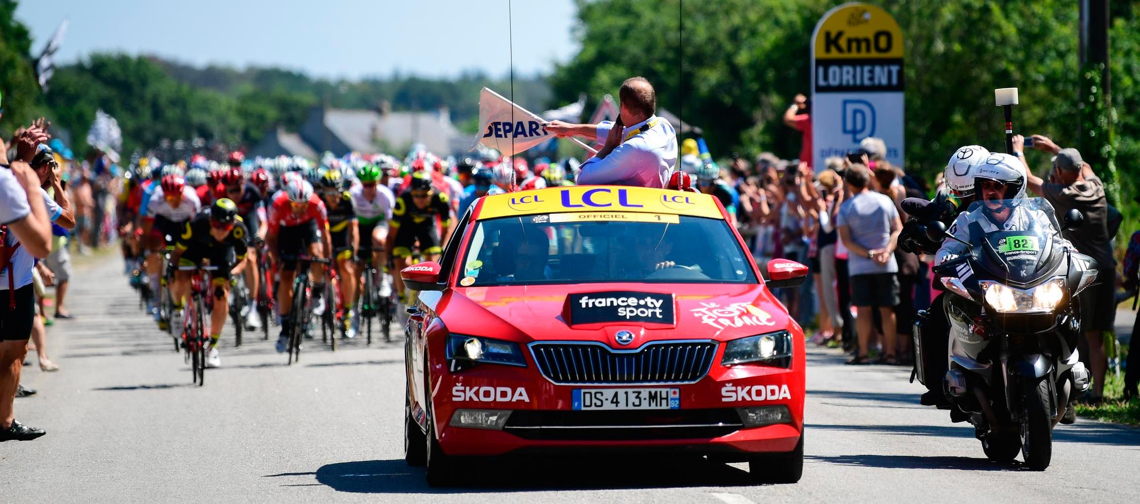 SKODA patrocinador oficial del Tour de Francia 2019