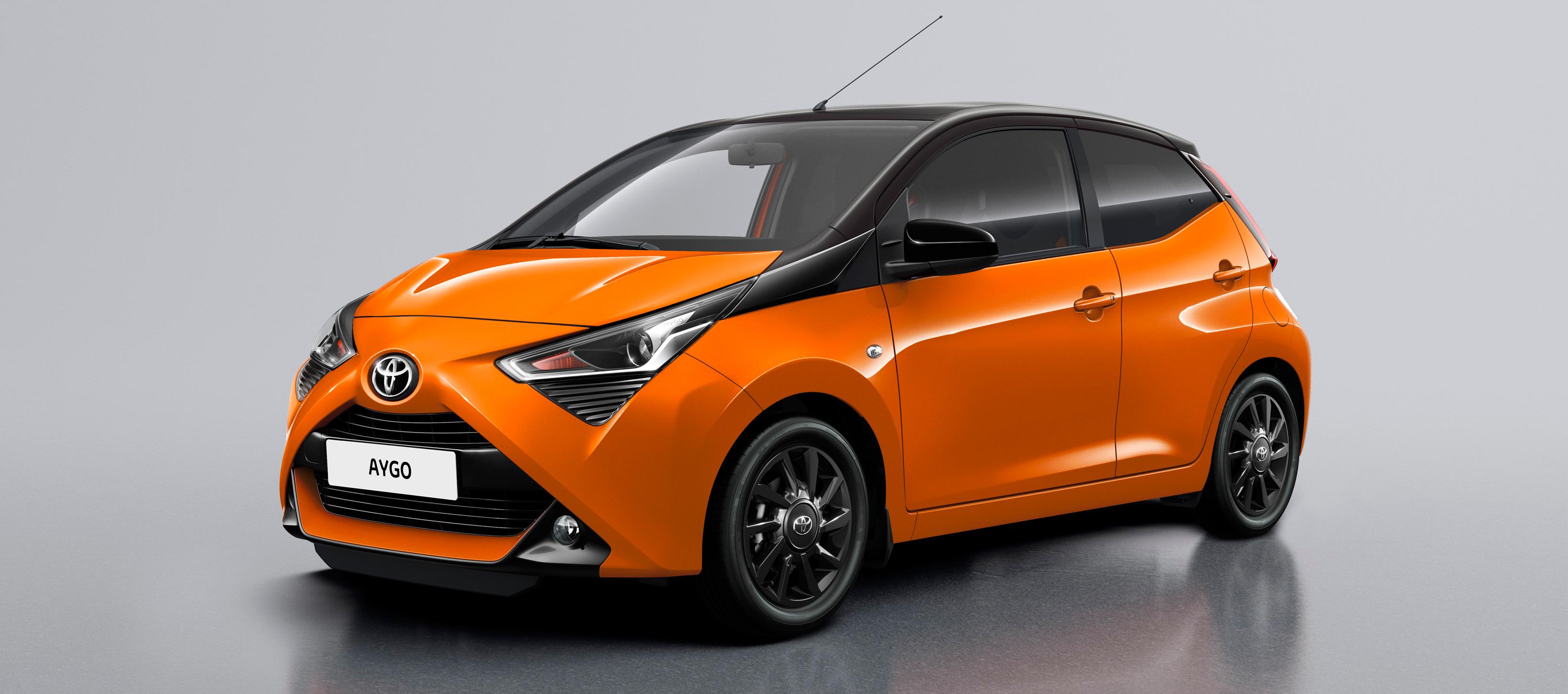 Nuevo Toyota AYGO x-cite ya en los concesionarios