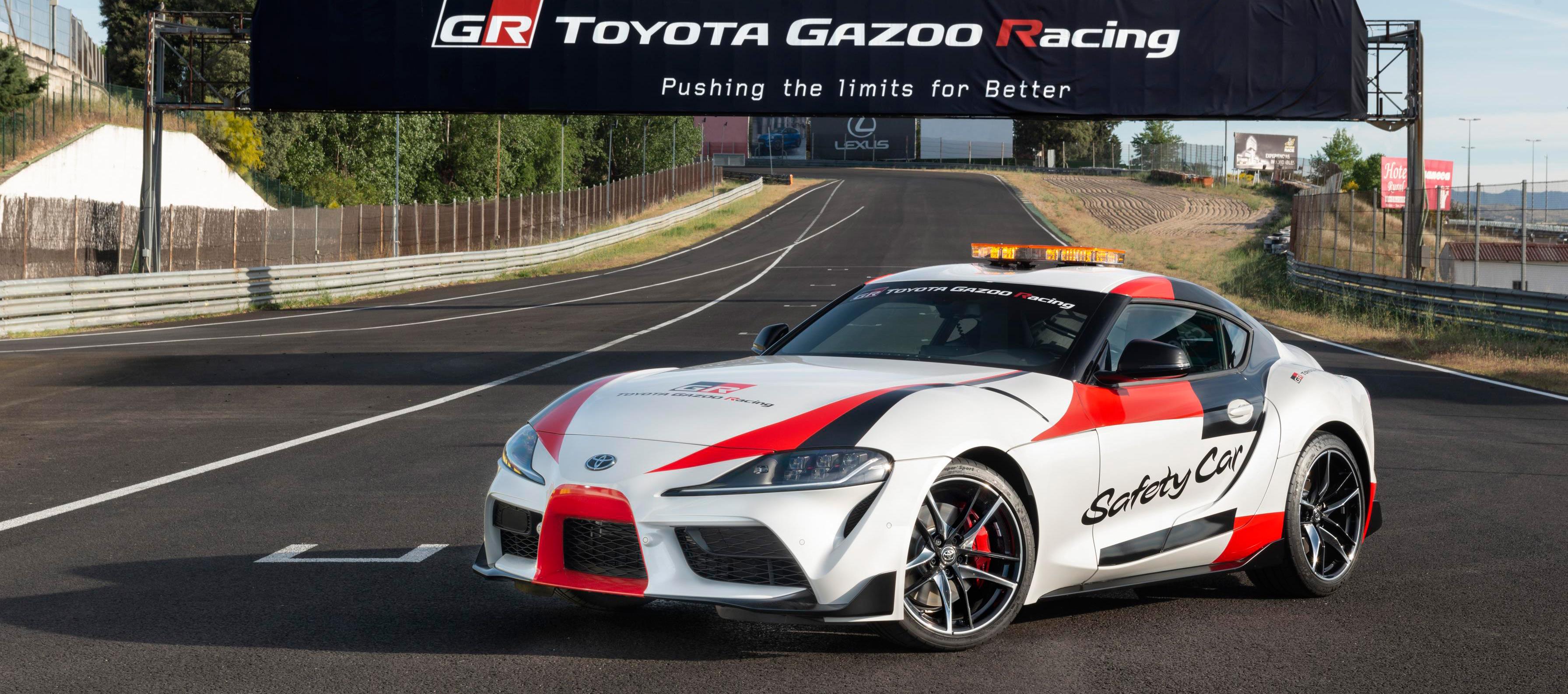 Toyota GR Supra Safety Car, nuevo coche de seguridad para el CET