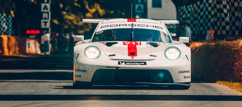 Estreno del Porsche 911 RSR en la Categoría GTE-Pro