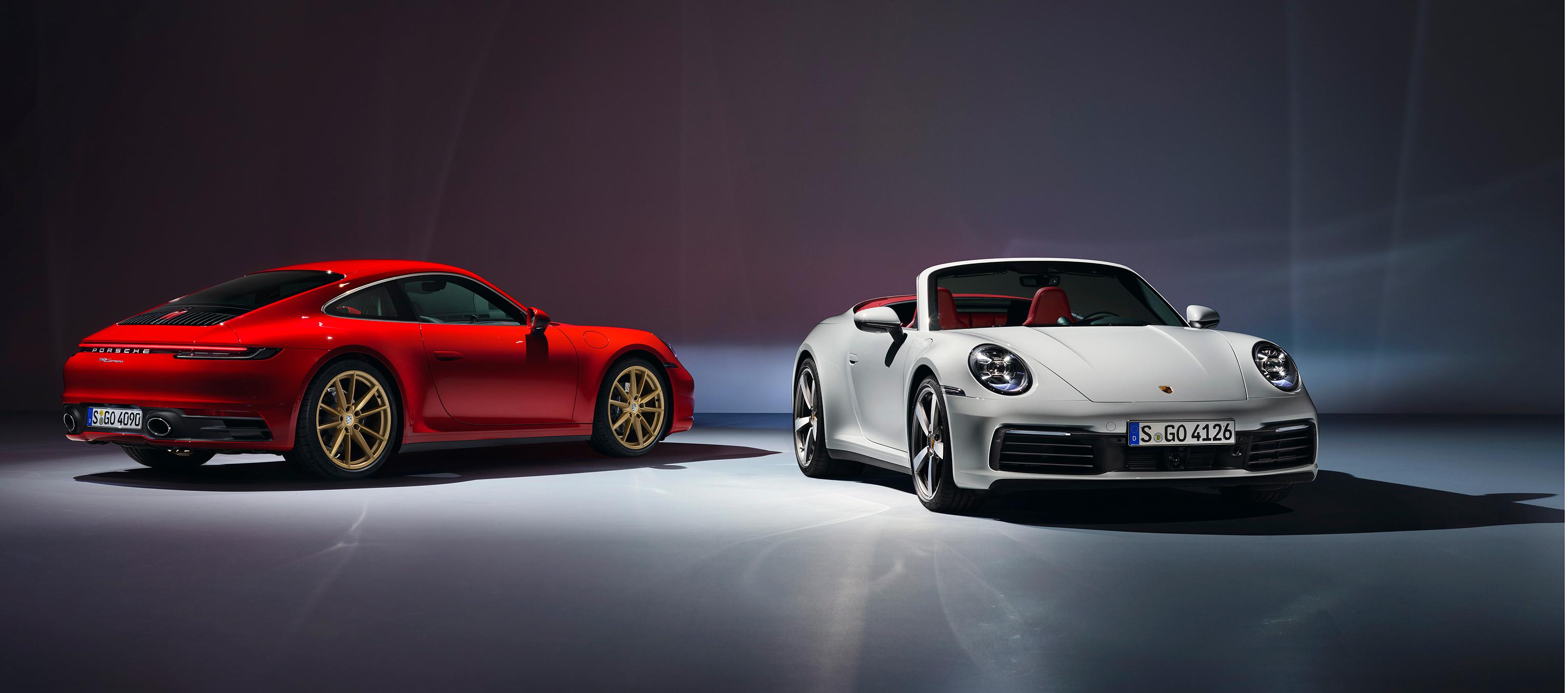 Porsche lanza el 911 Carrera Coupé y Cabrio