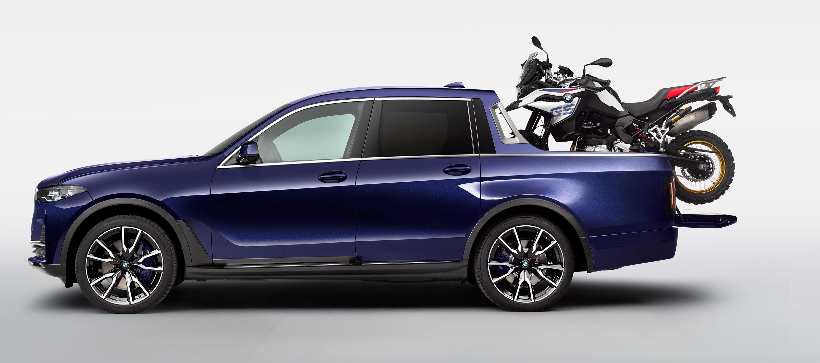 BMW X7 Pick up concept, la visión de BMW para este segmento