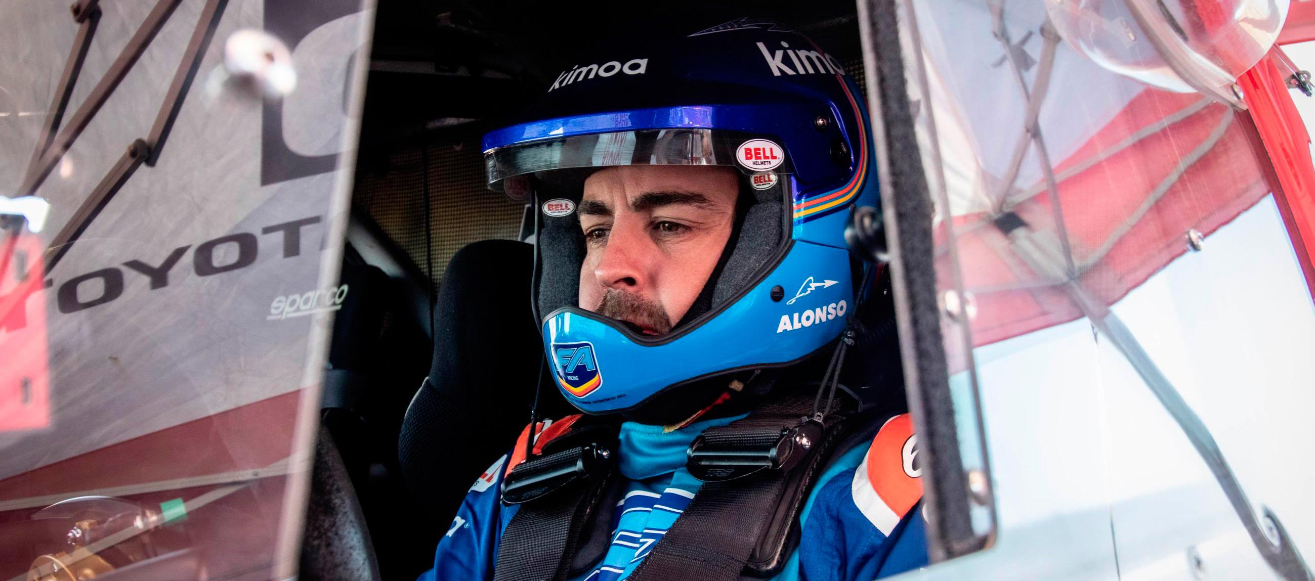 Alonso completa unos exigentes test en Namibia