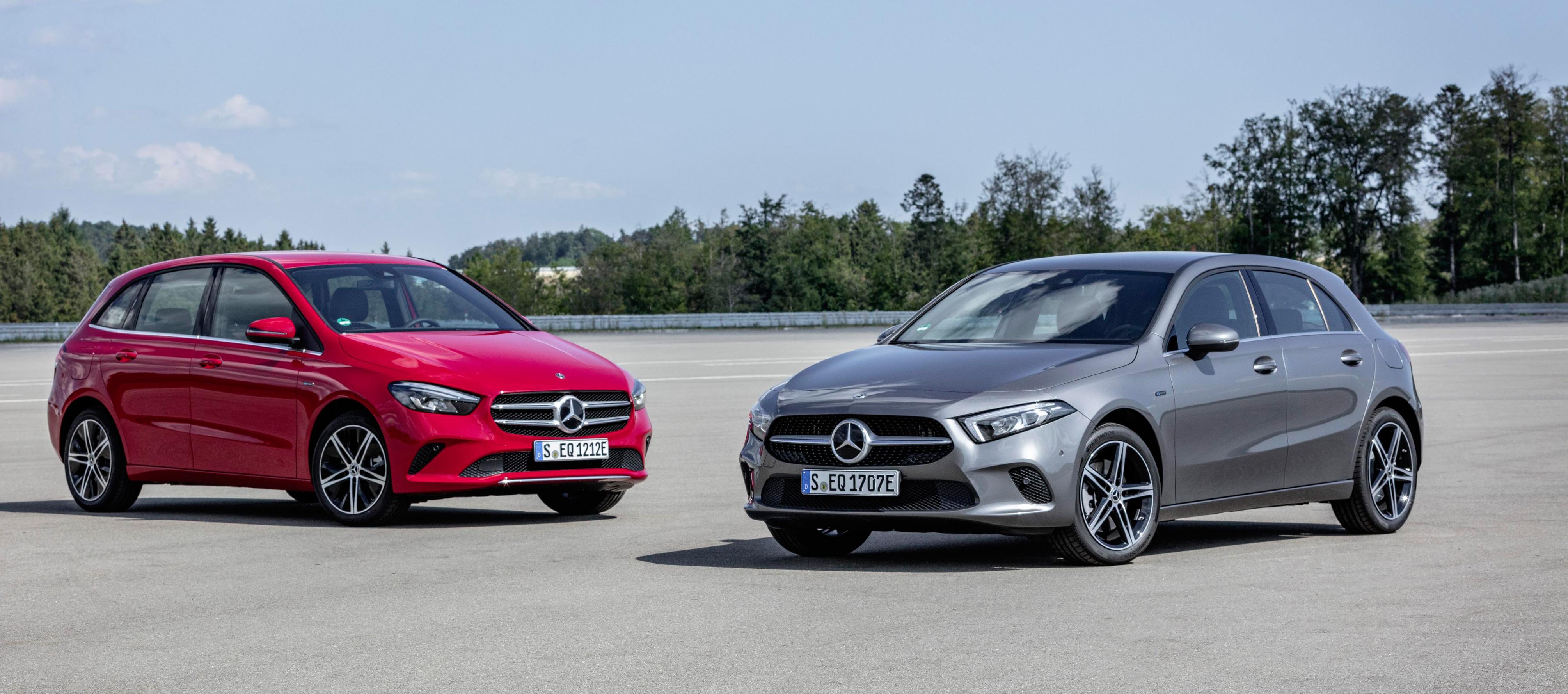 Mercedes-Benz Clase A y B EQ Power