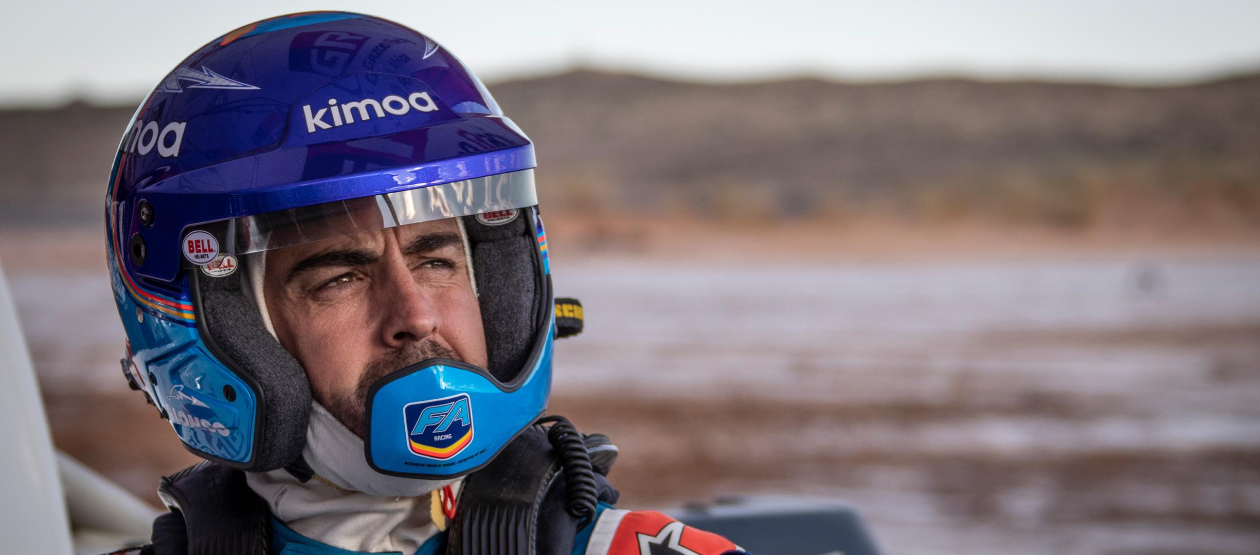 Fernando Alonso apunta al Dakar