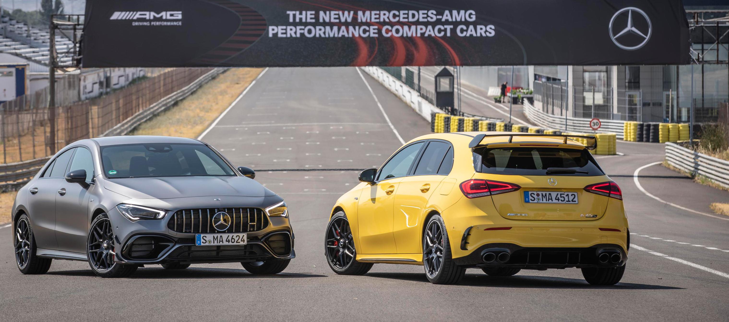 Mercedes-AMG A 45 y A 45S 4MATIC+ sorprenden por su deportividad