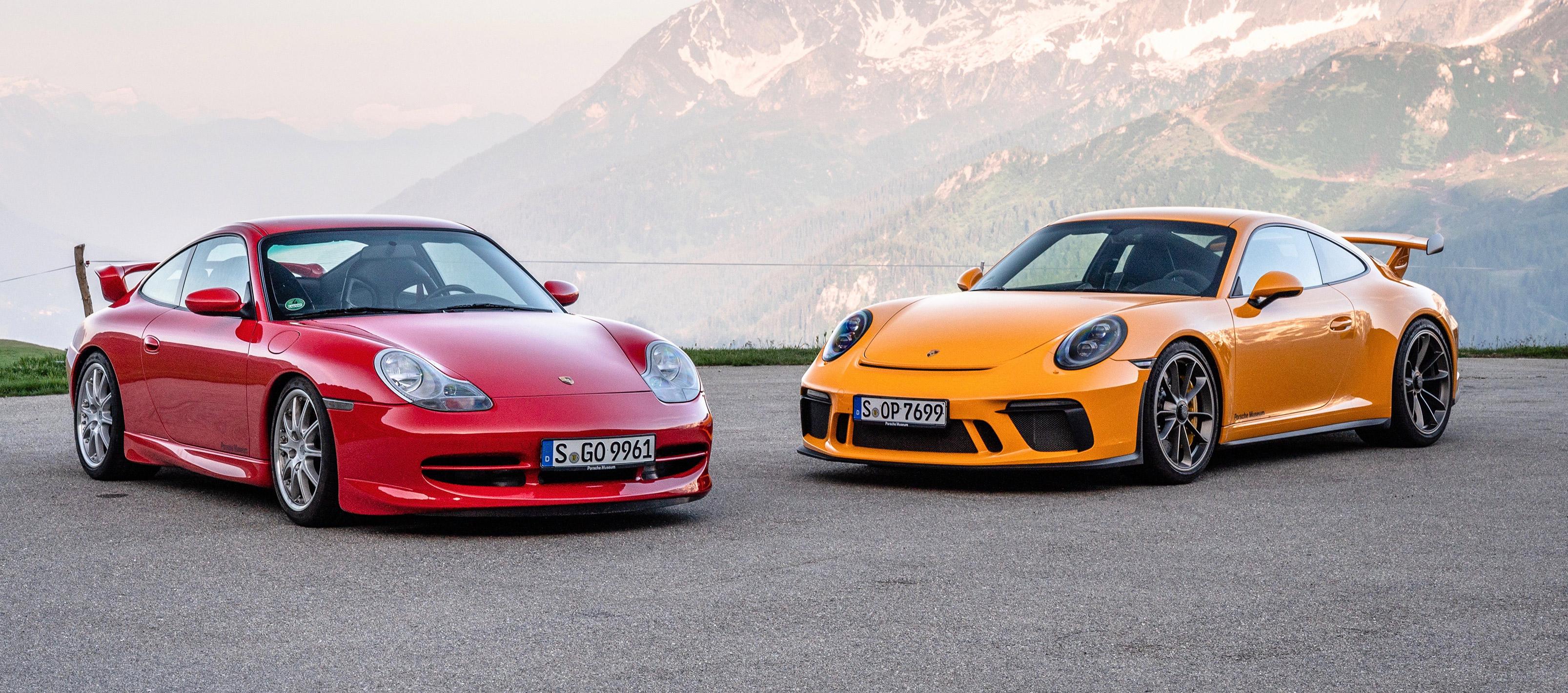 20 años del Porsche 911 GT3